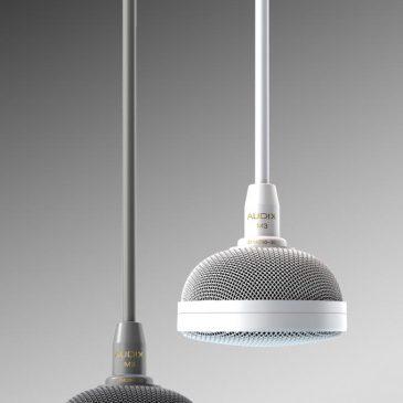 Dante, AES67, vagy AVB/TSN lesz az Audix mennyezeti mikrofonjaiban